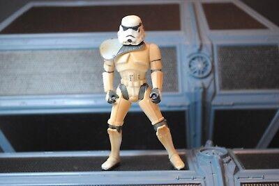 Star Wars Sandtrooper Dewback Variant Grey Sholder Gaurd  Action Figure