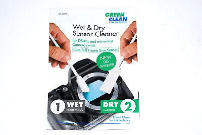 1x Wet + Dry für Sensor Cleaning Kit -NON-FULL-FRAME - New Shape (NEU/OVP)