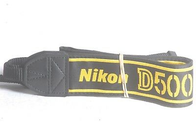 Nikon D500 Genuine DSLR Camera Neck Strap, used for sale  Shipping to India