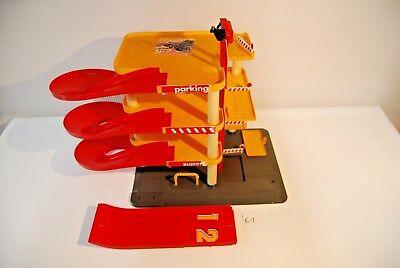 E1 Ancien jouet garage Charton plastique FRAnCE