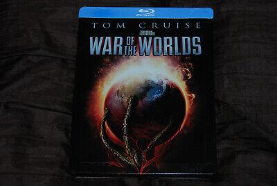 War of the Worlds OOP Steelbook Blu - Tom Cruise Steven Spielberg H.G. Wells (Steven Spielberg Halloween Movies)