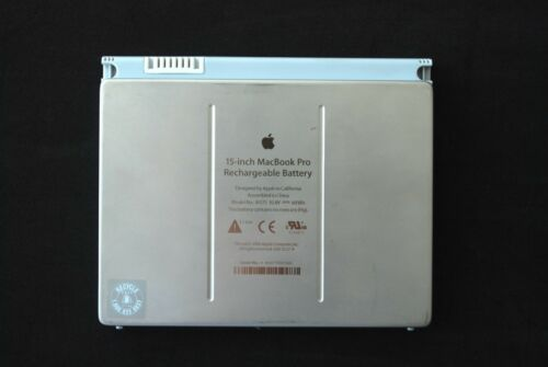 "Genuine Apple MacBook Pro 15"" 10.8V 60Wh Battery A1175 1-37 Cycle Count (27T"