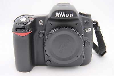 Nikon D80 10.2 MP Digital SLR Camera W/ BATTERY AND CHARGER  for sale  Shipping to India