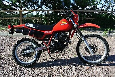 HONDA XL350R 1984, LOW MILEAGE USA IMPORT WITH TITLE.
