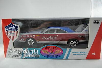 1:18 Ertl Supercar 1 -  Sox & Martin Serie #1 -1970 Plymouth Superbird  Neu OVP gebraucht kaufen  Krettenhof
