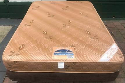 Excellent double bed base + Mattress. Delivery is available