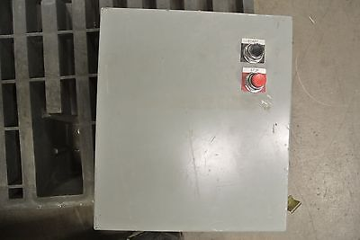 Hoffman Enclosure A-1614ch W Control Transformer And Square D Size 00 Starter