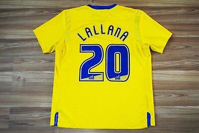 ADAM LALLANA #20 SOUTHAMPTON AWAY FOOTBALL SHIRT 2011-2012 JERSEY SIZE LARGE image