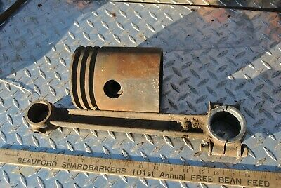 Original Fairbanks Morse Z 3 Hp Hit Miss Gas Engine Connecting Rod Piston