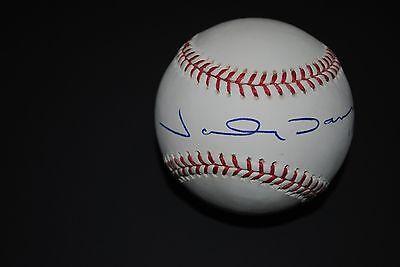 (Johnny Damon Autographed Baseball)