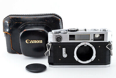 """Rare"" [AS IS] Canon Model 7S Rangefinder Film Camera Body w/Case From Japan"