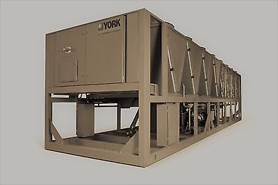 2020 York 270 Ton Air Cooled Chiller Dual Variable Spd. Screw In Stock 250 260