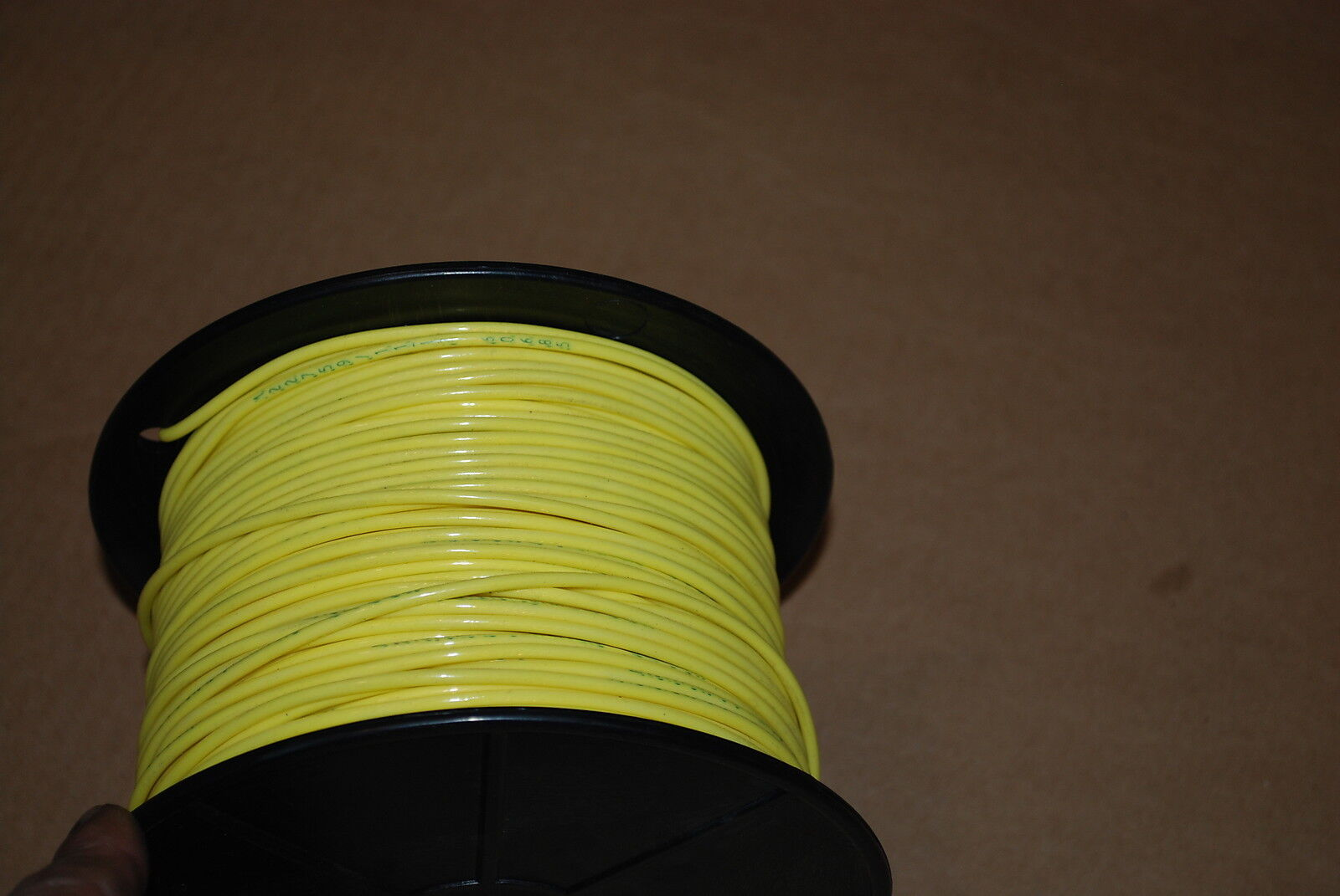 MIL SPEC WIRE M22759//11-12-4  SILVER PLATED 12 AWG  100 FEET YELLOW NEW