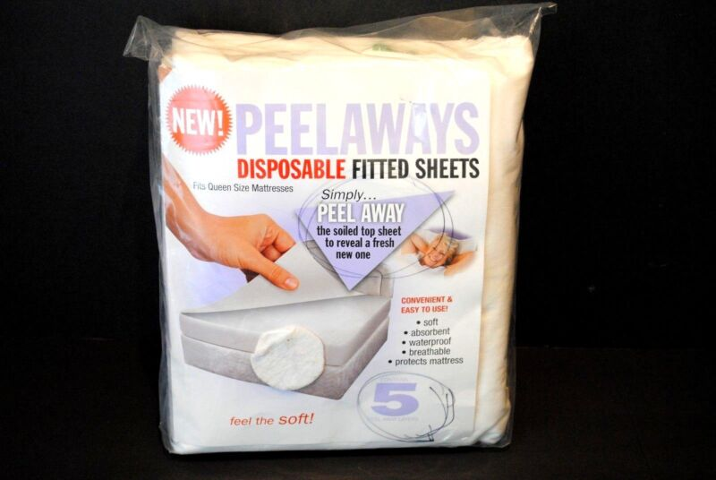 5 Pellaway Disposable Fitted sheets Queen size Mattress