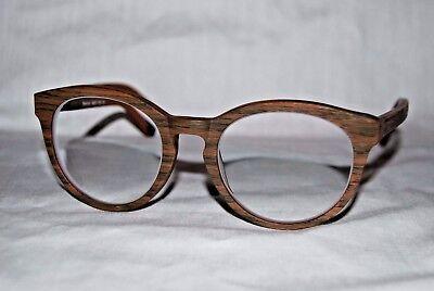 EYEBUYDIRECT.COM Uni-Sex EYEGLASS FRAMES Wood Style Retro Standard 49[]21-135 C6