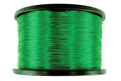 Temco Magnet Wire 28 Awg Gauge Enameled Copper 7.5lb 14910ft 155c Coil Green