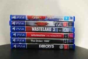 Video Games for sale (PS3, PS4, PS2 and Xbox)