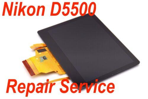 NIKON D5500 LCD Assembly Repair Service
