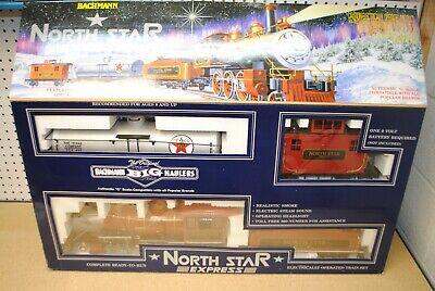 Bachmann 90018 North Star Express Christmas Steam Locomotive Train Set *G-Scale*