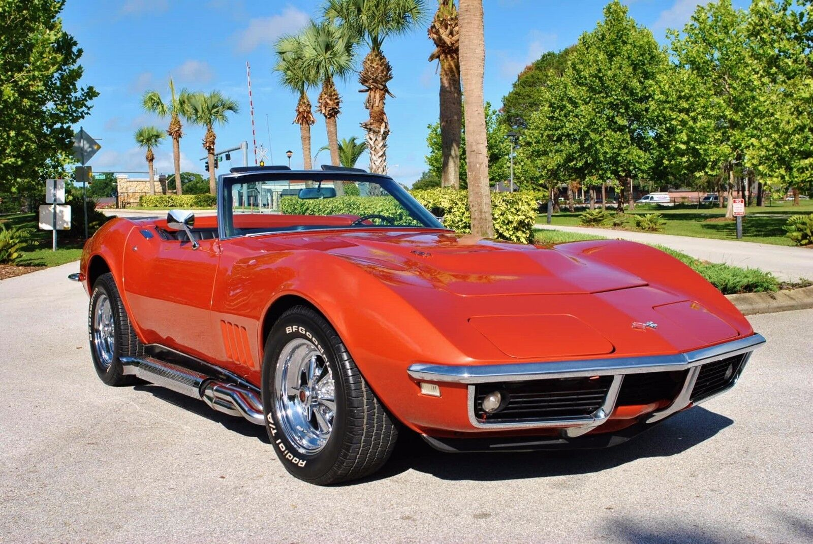 1968 Chevrolet Corvette Convertible 427 V8 Numbers Matching Fully Restored Power Steering Power Disc Brakes Factory Bronze Color Automatic Transmission
