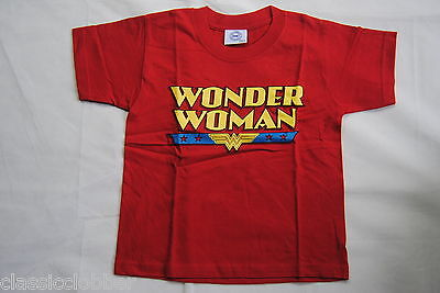 WONDER WOMAN LOGO KIDS T SHIRT NEW OFFICIAL DC COMICS SUPERHERO DIANA PRINCE ()