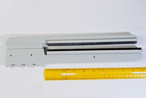 Vintage  Print/ Film Squeegee Contoured Hand Grip Blade for up to 8 x 10