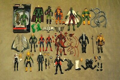 Hasbro Marvel Legends Select Spider-Man Green Goblin Kraven Electro Cameleon Lot