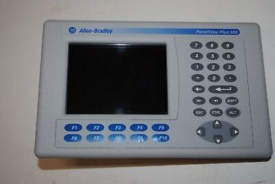 2711p-k6c20a Allen Bradley Panelview Plus 600  2010
