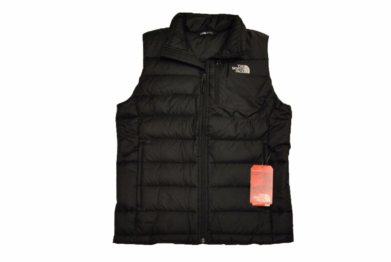 The North Face Men's Aconcagua Vest in TNF Black 550 Fill Do
