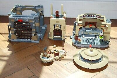 Lego Star Wars Jabba's Palace (9516) and Rancor Pit (75005) no Minis