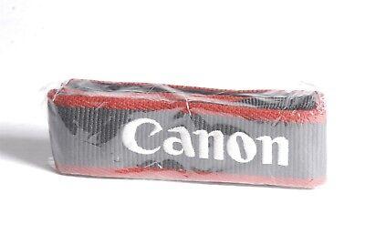 NEW Canon EOS Digital Navy Blue / Maroon Stitch Camera Neck Strap