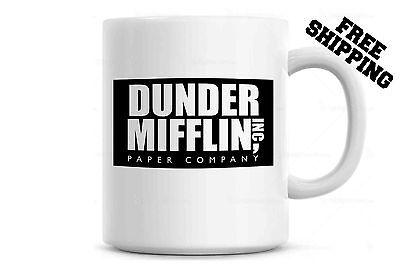 Dunder Mifflin Worlds Best Boss Coffee Mug