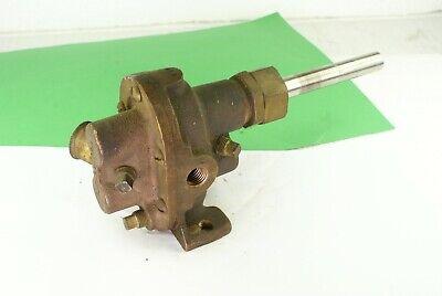 Oberdorfer 50 Brass Gear Pump Hit Miss Engine