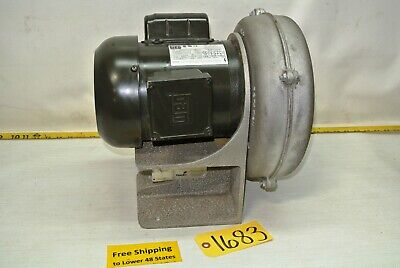 Howden Af-8 Blower W 1 Hp Weg Electric Motor Industrial Tool Free Ship