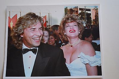 Don Johnson Miami Vice Melanie Griffith 8x10 Photo Vintage Collector Item
