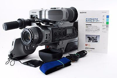 Sony DCR-VX9000 Digital Handy Camcorder w/Manual  [AS-IS  For Parts] From Japan
