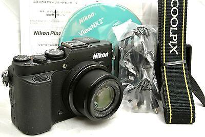 Nikon Coolpix P7800 digital camera w. accessories *immaculate