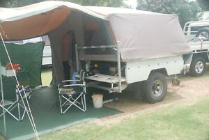 Custom built Heavy duty Off Road Camper