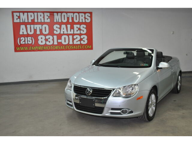 08 Volkswagen EOS Convertible TURBO 6 Speed Manual One Owner No Reserve