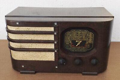 Antiguo Radio de Tubos Sonora con Bakelithäuse Colector de / Bastler Rareza, usado segunda mano  Embacar hacia Mexico