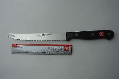 """Wusthof Gourmet, NSF, 5"""" Serrated Tomato Knife model4105/14 cm."""
