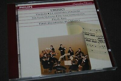VIVALDI / AYO - The Four Seasons CD / PHILIPS - 422 139-2