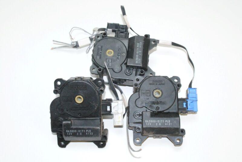LEXUS GS 300 2006 RHD HEATER BLOWER FLAP CONTROL MOTORS 063800-0171