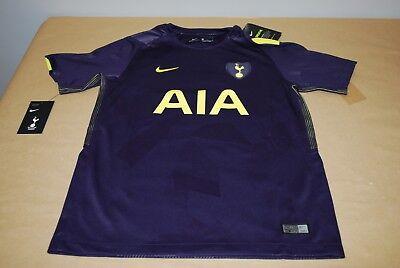 Nike Tottenham Hotspur Youth 2017/18 Third Soccer Jersey Purple - Large image