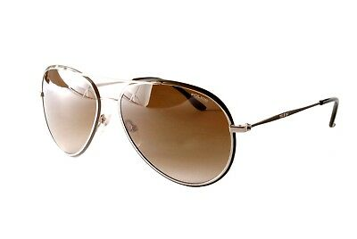 Police Sunglasses S8299M 0523 Silver Green Brown Gradient