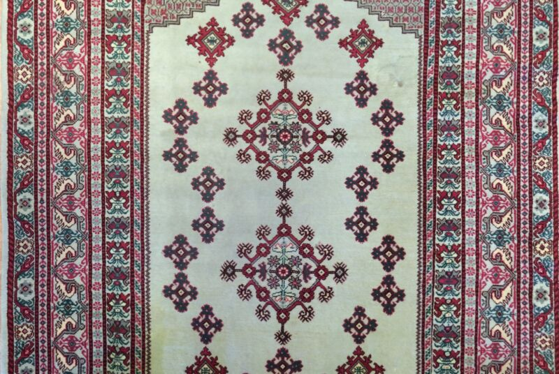 Marvelous Moroccan - Vintage Tribal Rug - Oriental Carpet - 6.6 X 10 Ft.