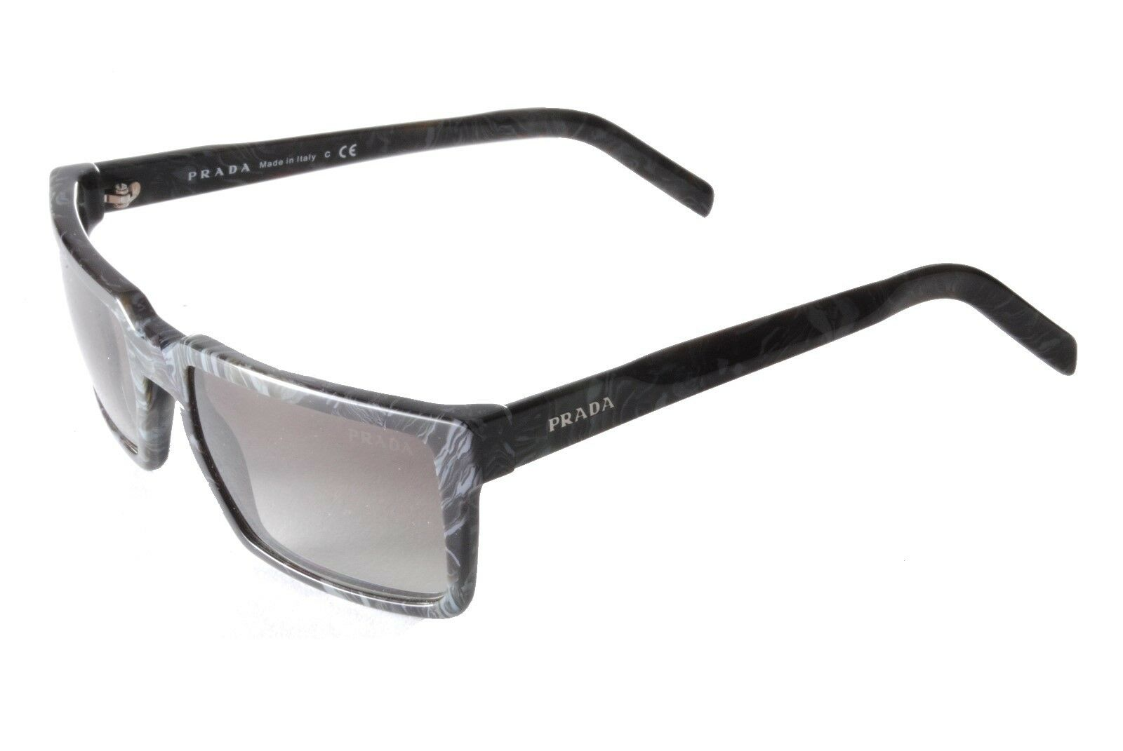 30bd3eeb5d3 Prada PR 03SS UEK0A7 Grey Marble Brown Gradient Sunglasses