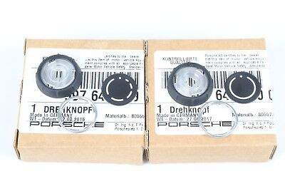 Genuine Porsche Factory Replacement Radio Knob Set 997.2/987.2/957 PCM3 Carrera for sale  Shipping to Canada