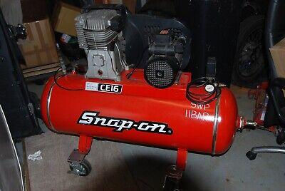 snap on 150 litre air compressor 240 volt 3 hp