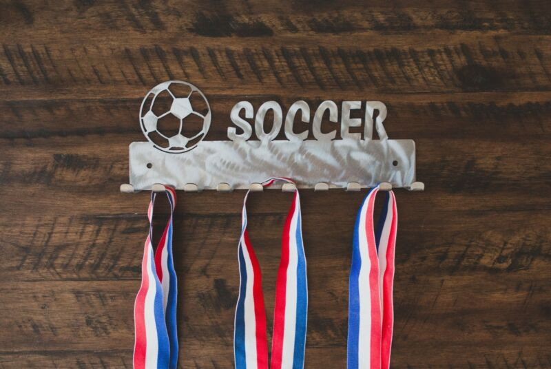 Soccer Medal Display, Hanger